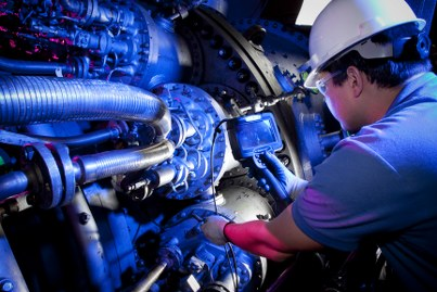 PSP30932-00, Borescope inspection by field engineer on MS7001FA gas turbine, Inspection and Repair Services, ELC, Bldg.600 Schenectady, NY, USA  DI-RAW
